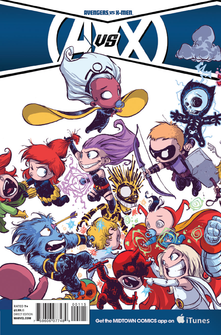 Blog: MY Top 10 Skottie Young Baby Variants | The Dynamic ...