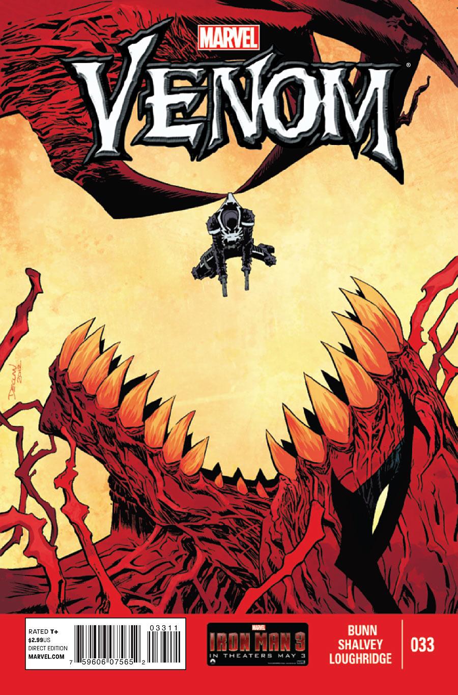 Preview: Venom #33 | The Dynamic Buzz!